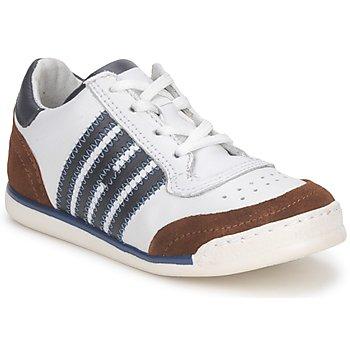 Schoenen Kinderen Lage sneakers Hip ARCHIK Wit / Brown