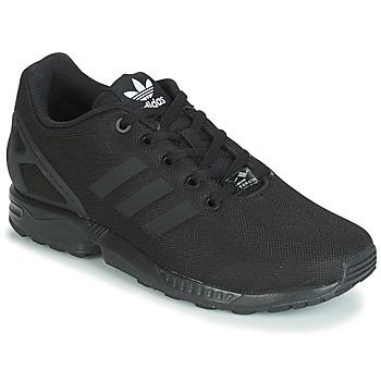 Schoenen Jongens Lage sneakers adidas Originals ZX FLUX J Zwart