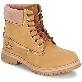 Schoenen Dames Laarzen Coolway BASIL Honing