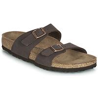 Schoenen Dames Leren slippers Birkenstock SYDNEY Brown