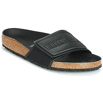 Schoenen Heren Leren slippers Birkenstock TEMA Zwart
