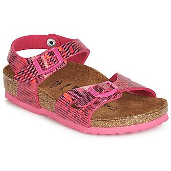 Schoenen Meisjes Sandalen / Open schoenen Birkenstock RIO Roze