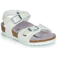 Schoenen Meisjes Sandalen / Open schoenen Birkenstock RIO Wit