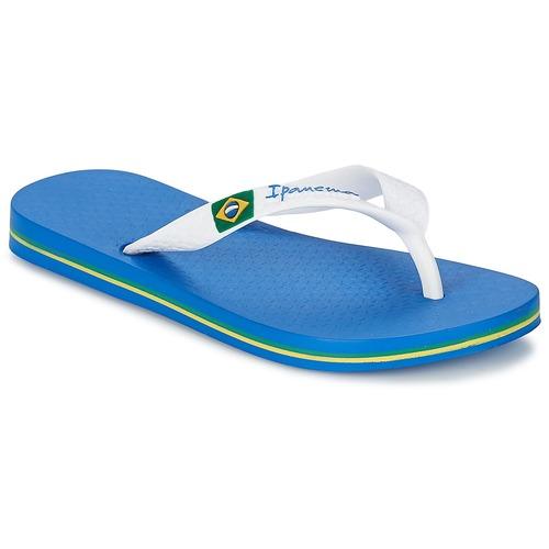 Schoenen Jongens Slippers Ipanema CLASSICA BRASIL II KIDS Blauw / Wit