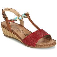 Schoenen Dames Sandalen / Open schoenen Remonte Dorndorf MIJUS Rood