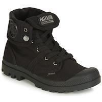 Schoenen Dames Laarzen Palladium PALLABROUSE BAGGY Zwart