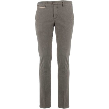 Textiel Heren Chino's Teleria Zed MADE IN ITALY ROBIN Taupe