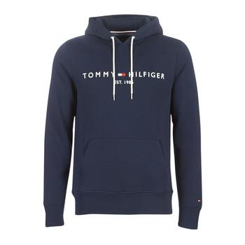Textiel Heren Sweaters / Sweatshirts Tommy Hilfiger TOMMY LOGO HOODY Marine