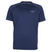 Textiel Heren T-shirts korte mouwen Under Armour TECH 2.0 SS TEE Marine