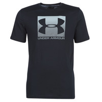 Textiel Heren T-shirts korte mouwen Under Armour BOXED SPORTSTYLE Zwart