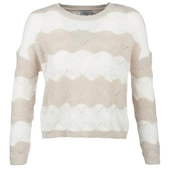 Textiel Dames Truien Only ONLKARO Beige / Ecru