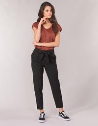 Textiel Dames 5 zakken broeken Only ONLNICOLE Zwart