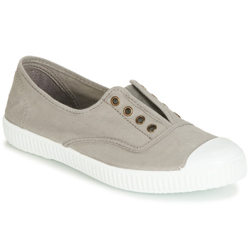 Schoenen Lage sneakers Victoria INGLESA ELASTICO TINTADA Grijs