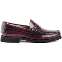 Schoenen Heren Mocassins Colour Feet OXFORD Rood