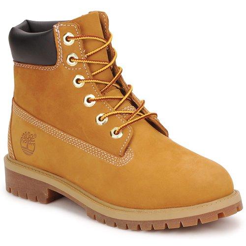 Schoenen Kinderen Laarzen Timberland 6 IN PREMIUM WP BOOT COGNAC