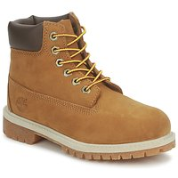 Schoenen Kinderen Laarzen Timberland 6 IN PREMIUM WP BOOT RUST / Nubuck / Met / Honey