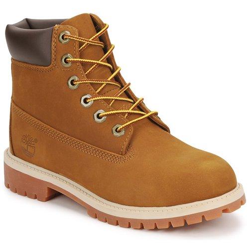 Schoenen Kinderen Laarzen Timberland 6 IN PREMIUM WP BOOT Brown / Honing