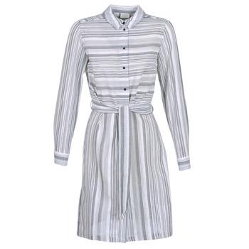 Textiel Dames Korte jurken Vila VINAVIDA Wit / Blauw