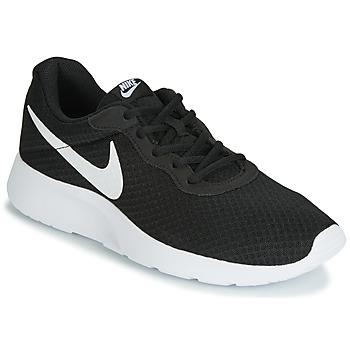 Schoenen Heren Lage sneakers Nike TANJUN Zwart / Wit