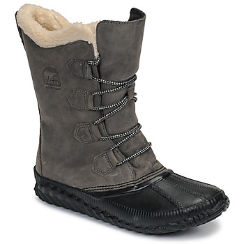 Schoenen Dames Snowboots Sorel OUT N ABOUT PLUS TALL Grijs