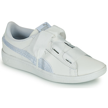 Schoenen Kinderen Lage sneakers Puma VIKKY RIB PS BL Wit