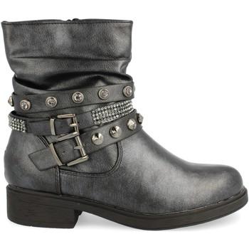 Schoenen Dames Enkellaarzen H&d L88-218 Negro