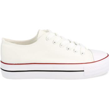 Schoenen Dames Lage sneakers Tony.p BYH-72 Blanco