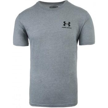 Textiel Heren T-shirts korte mouwen Under Armour Sportstyle Left Chest Gris