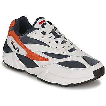 Schoenen Heren Lage sneakers Fila V94M R LOW Wit / Orange