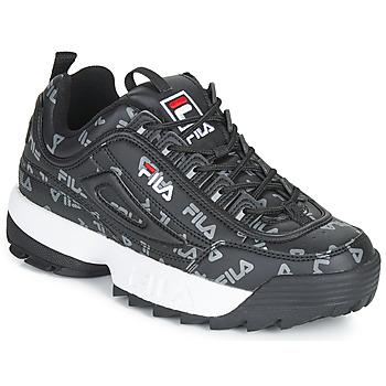 Schoenen Dames Lage sneakers Fila DISRUPTOR LOGO LOW WMN Zwart