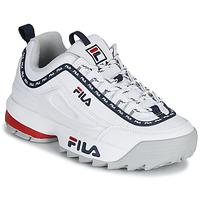 Schoenen Dames Lage sneakers Fila DISRUPTOR LOGO LOW WMN Wit