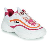 Schoenen Dames Lage sneakers Fila RAY CB LOW WMN Wit / Roze / Orange
