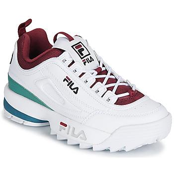 Schoenen Dames Lage sneakers Fila DISRUPTOR  CB LOW WMN Wit