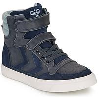 Schoenen Kinderen Hoge sneakers Hummel STADIL WINTER HIGH JR Blauw