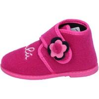 Schoenen Meisjes Sloffen Lulu Chaussons BS28 Rose