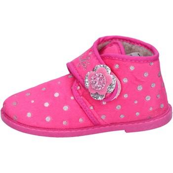 Schoenen Meisjes Sloffen Lulu Chaussons BS44 Rose