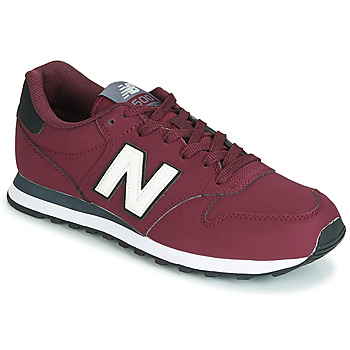 Schoenen Lage sneakers New Balance 500 Bordeaux