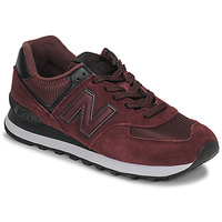 Schoenen Dames Lage sneakers New Balance 574 Bordeaux