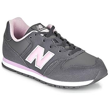 Schoenen Meisjes Lage sneakers New Balance 373 Grijs / Roze