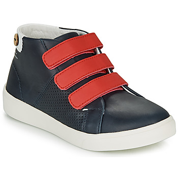 Schoenen Meisjes Lage sneakers Faguo ASPENLOW LEATHER Blauw
