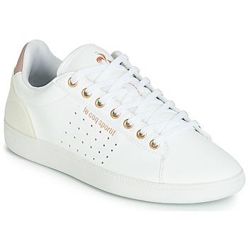 Schoenen Dames Lage sneakers Le Coq Sportif COURTSTAR W BOUTIQUE Wit / Roze