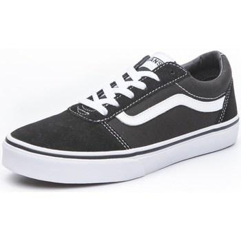 Schoenen Kinderen Lage sneakers Vans Ward Blanc, Noir