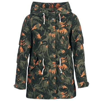 Textiel Dames Parka jassen Only ONLNEW DEMI Kaki