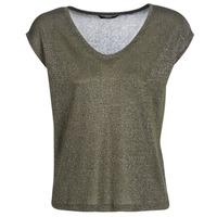 Textiel Dames T-shirts korte mouwen Only ONLSILVERY Kaki