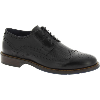 Schoenen Heren Derby Raymont 622 BLACK nero