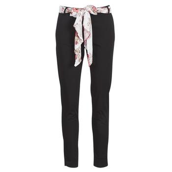 Textiel Dames 5 zakken broeken Betty London MIRABINE Zwart
