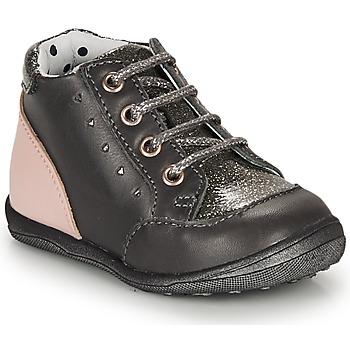 Schoenen Meisjes Laarzen Catimini CLELIA Grijs / Roze