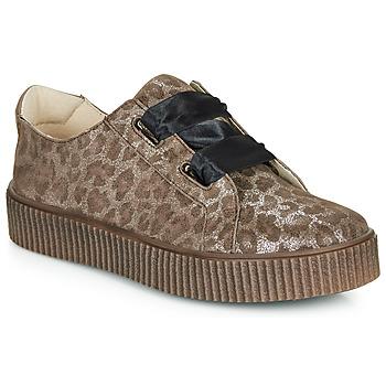 Schoenen Meisjes Lage sneakers Catimini CAVANILLE Brown