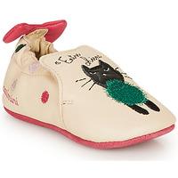 Schoenen Meisjes Sloffen Catimini CALICETTE Beige / Roze