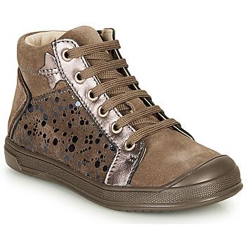 Schoenen Meisjes Hoge sneakers GBB ORENGETTE Taupe
